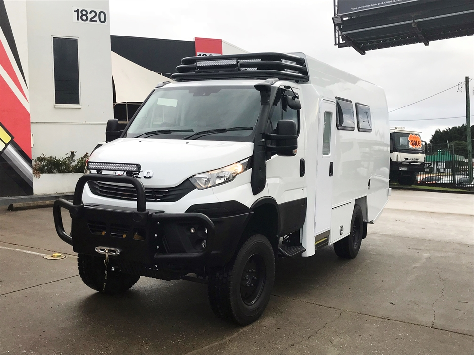 Iveco Daily 4wd Motorhome Shell 4x4 Motorhomes